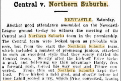 Central vs Norths 1910.
