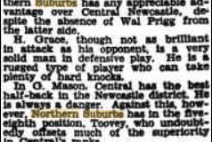 North's vs Central in Final 1935.