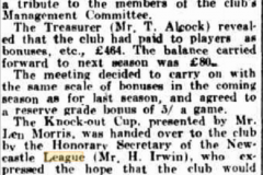 Northern Suburbs successful season 1933.