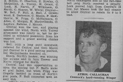 Central Newcastle defeat Northern Suburbs 1935.