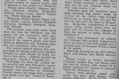 Northern Suburbs defeat Waratah Mayfield 1935.