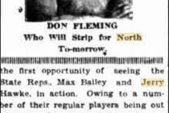 Don Fleming and Max Bailey 1930.