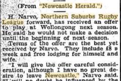 Herb Narvo 1940.