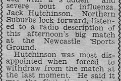 Jack Hutchinson 11th August 1951.