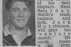Jack Hutchinson 1950.