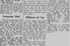 Bull to stay with Premiers 1962.