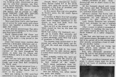 Northern Suburbs Semi Final 1965.