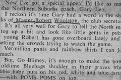 Robert Woolston June 1977.