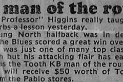 Craig Higgins 1983.