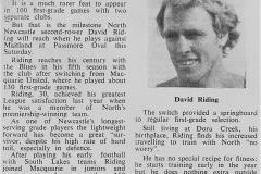 Dave Riding 1980.