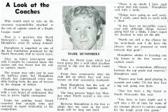 Mark Humphries 1983 Coach.