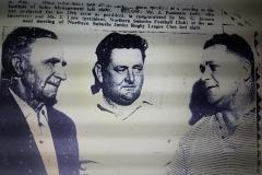 Jack Passmore, G.Jarmen and Jerry Lane.
