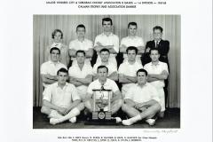 Northern Suburbs Cricket Club B Grade 1967/1968.