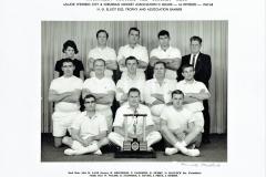 Northern Suburbs Cricket Club C Grade 1967/1968.