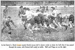 Central Newcastle vs Northern Suburbs 1934.