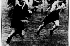 Northern Suburbs vs Cessnock 1934.