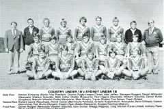 Graham Russell Country Under 18's 1982.