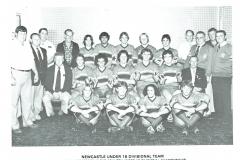 Newcastle under 18's 1981.