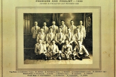 Northern Suburbs Under 18 Premiers 1933.
