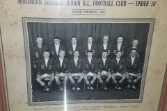 Northern Suburbs Under 18's Major Premiers 1954.