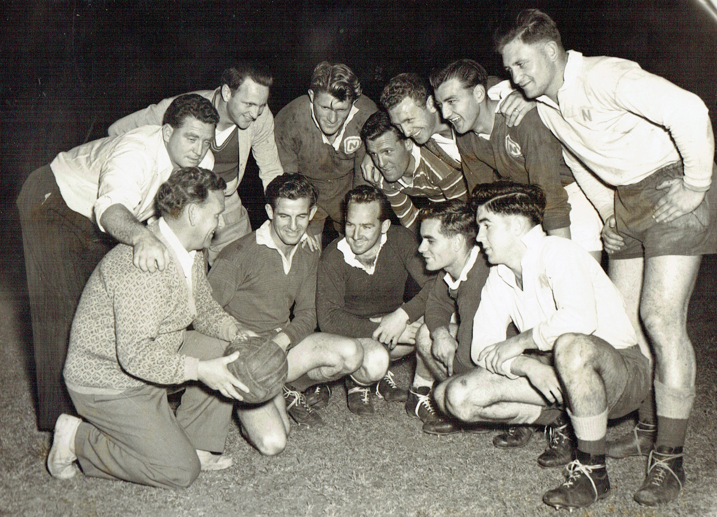 18th September 1953.Charity soccer match.