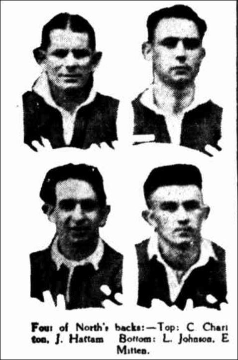Charlton,Hattam,Johnson,Mitten 1939.