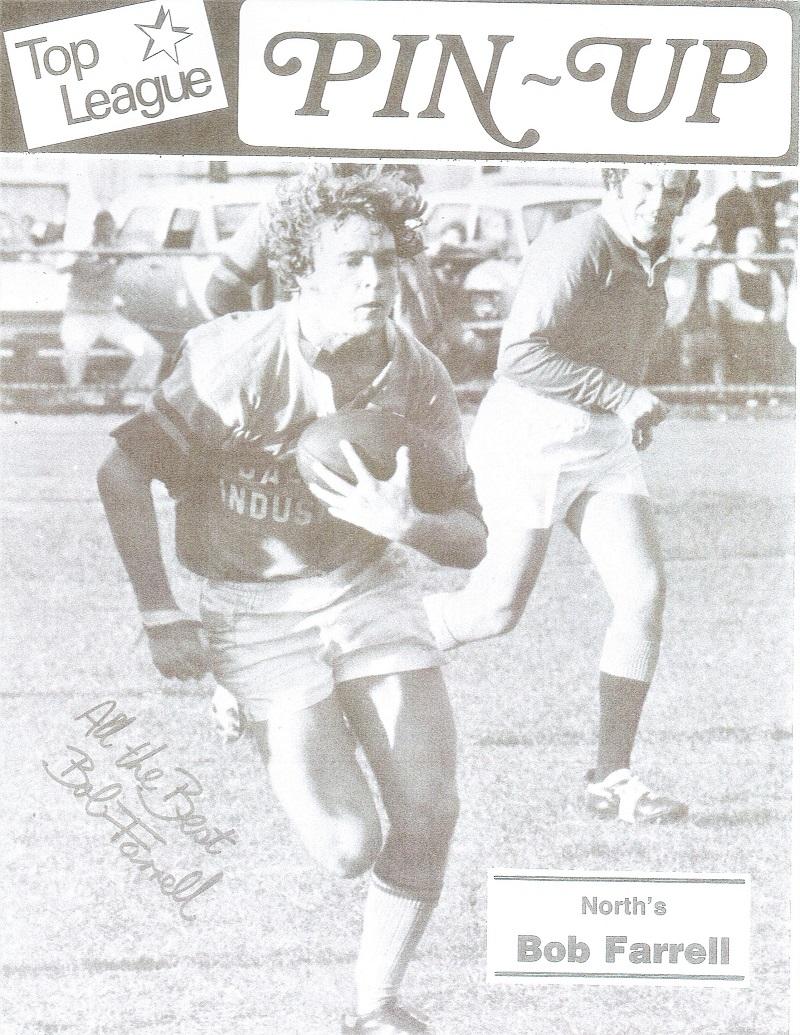 Bob Farrell 1976.