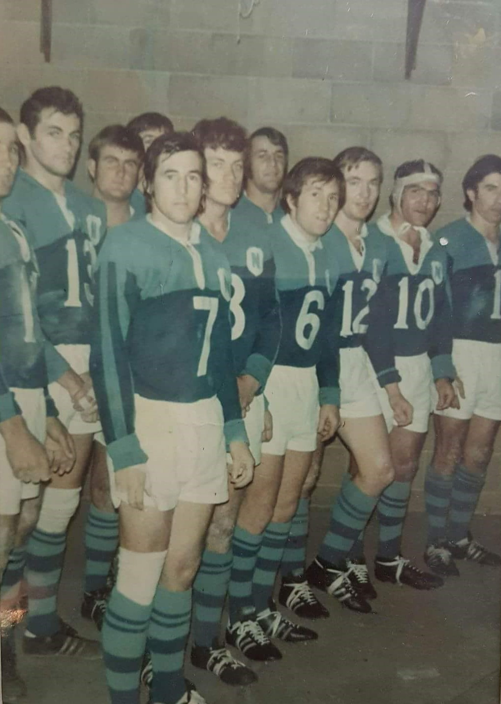 Northern Suburbs players pictured here at Cahill Oval 1971