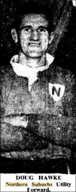 Doug Hawke 1953.