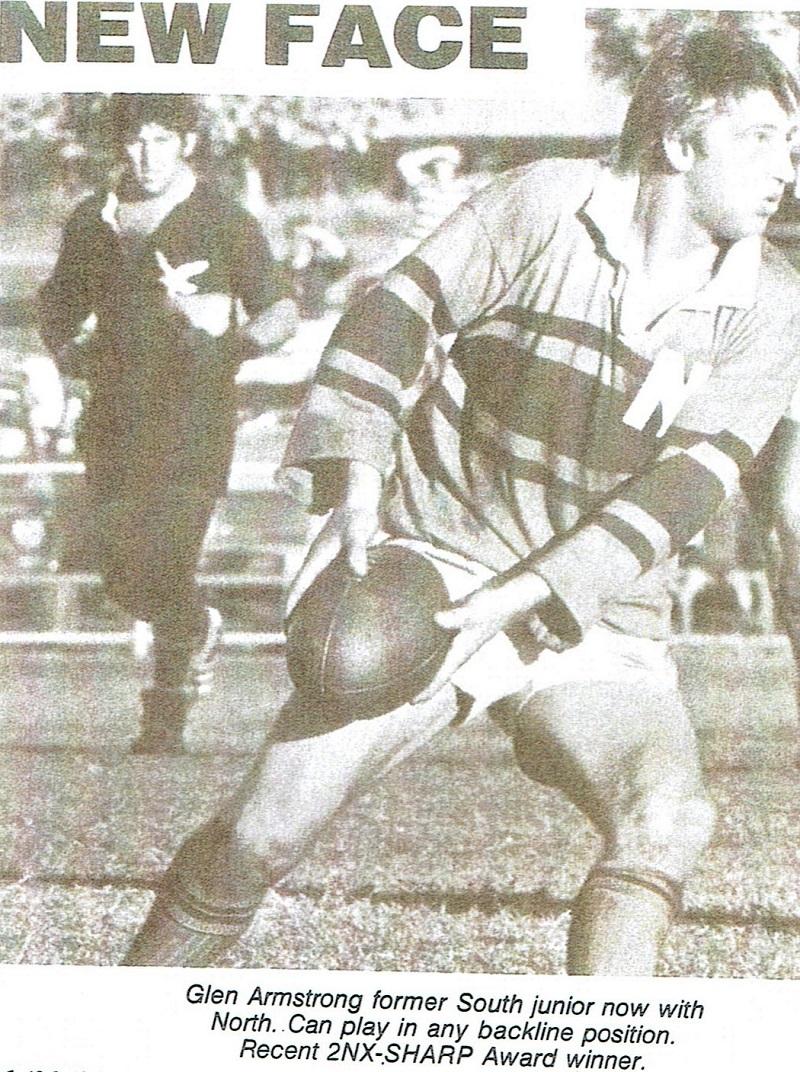 Glen Armstrong 1976.