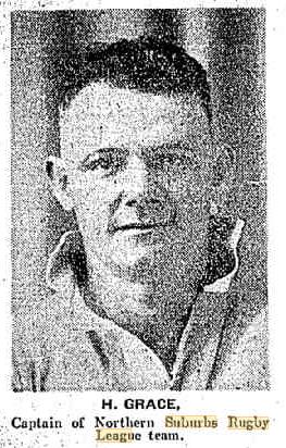 Harold Grace 1934.