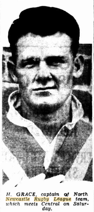 Harold Grace Captain 1934.