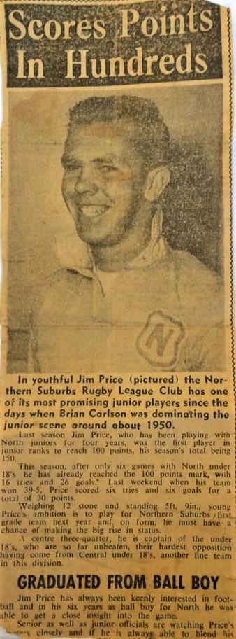 Jim Price 1958.