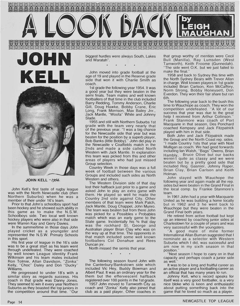 John Kell 1977.