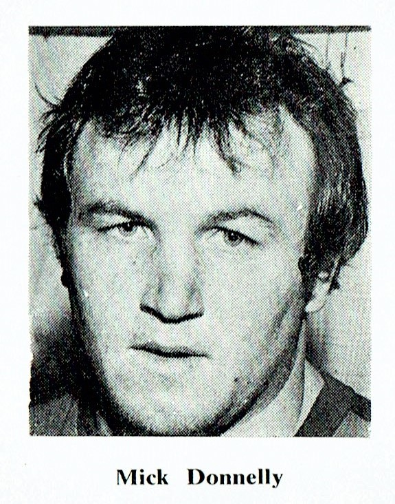 Mick Donnelly pictured here in 1982.