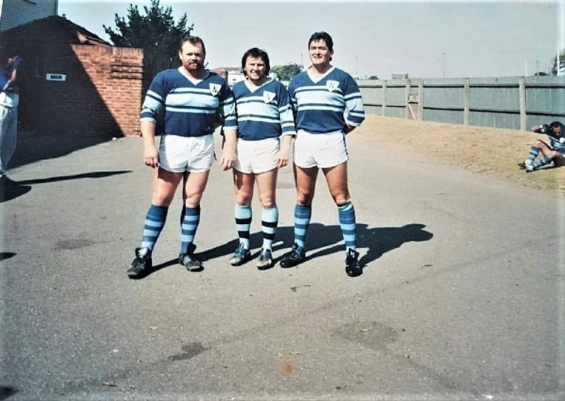 Peter McBain,Ray Keightley and Graeme Clarke 1991.