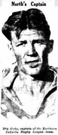 Reg Cody 1931.