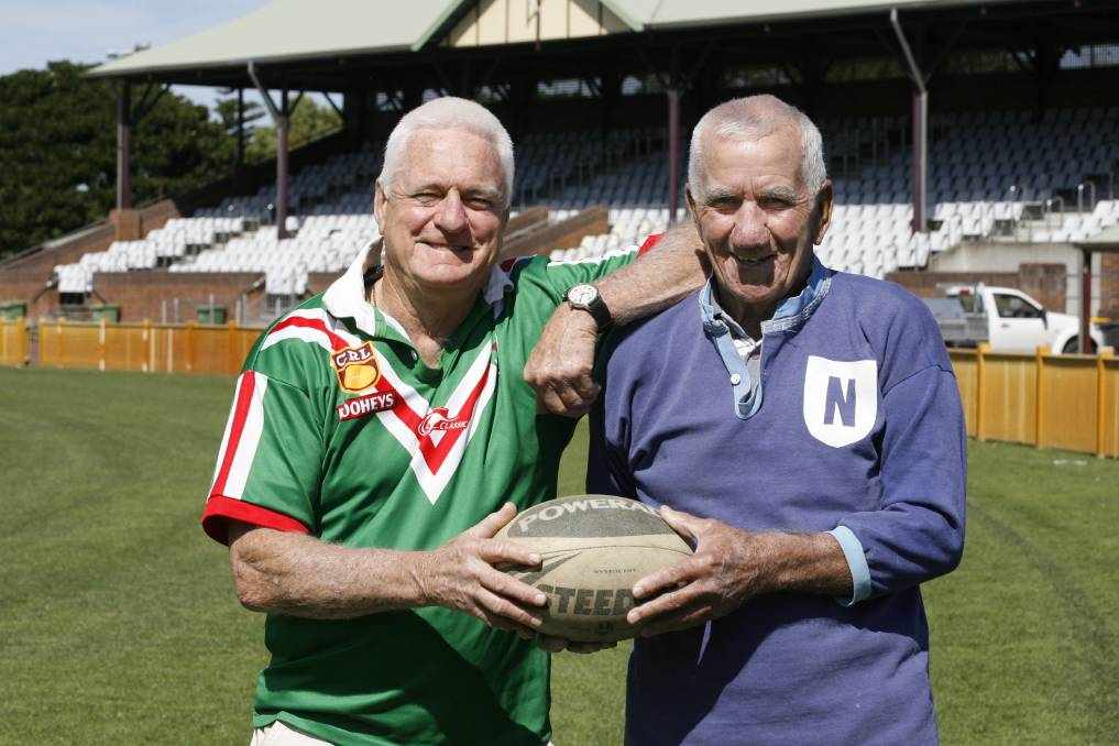 Wayne Bomber Hore and Jack Croaker Gill 2014
