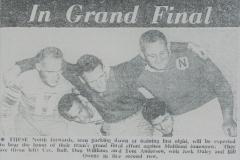 Scrums vital factor in 1962 Grand Final.