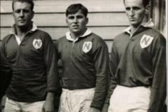 Jack Mantle,Doug Jones and Alwyn Slade 1957.