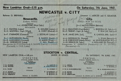 Newcastle vs City 7th June 1947 (2)