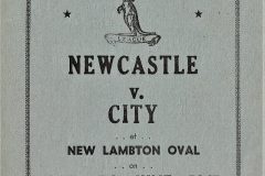 Newcastle vs City 7th June 1947.
