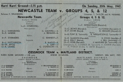 Newcastle vs Groups 4,5&12 Sunday 25th May 1948 (2)