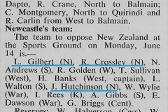 Newcastle vs New Zealand 14th June 1948 (3)