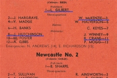 Newcastle No 1 vs Newcastle No 2.1948.