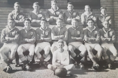 Northern Suburbs First Grade Team 1953 pictured before Grand Final.