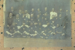 Carrington playing under North Newcastle 1909.