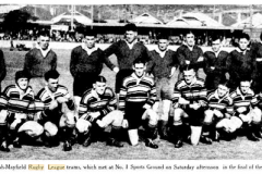 Waratah vs North Final 12th September 1936.