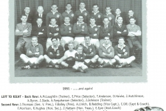Northern Suburbs First Grade Premiers 1951.
