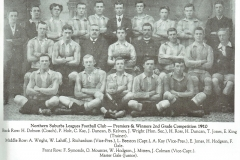 Northern Suburbs Reserve Grade Premiers 1910.